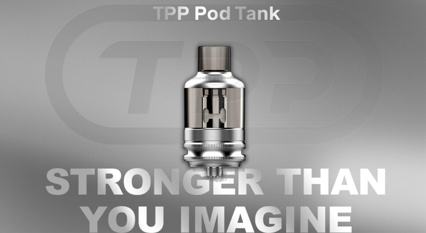VOOPOO TPP Pod Tank Black