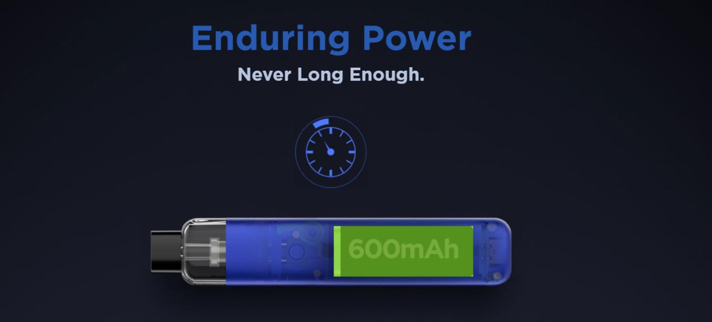 600mAh